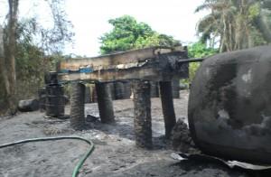 oil refinery burning 4