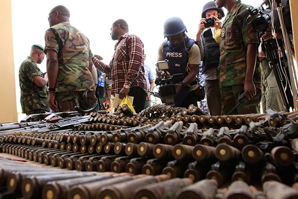 Nigeria America used arms