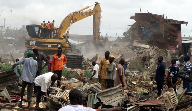 Badia East Lagos-Demolition