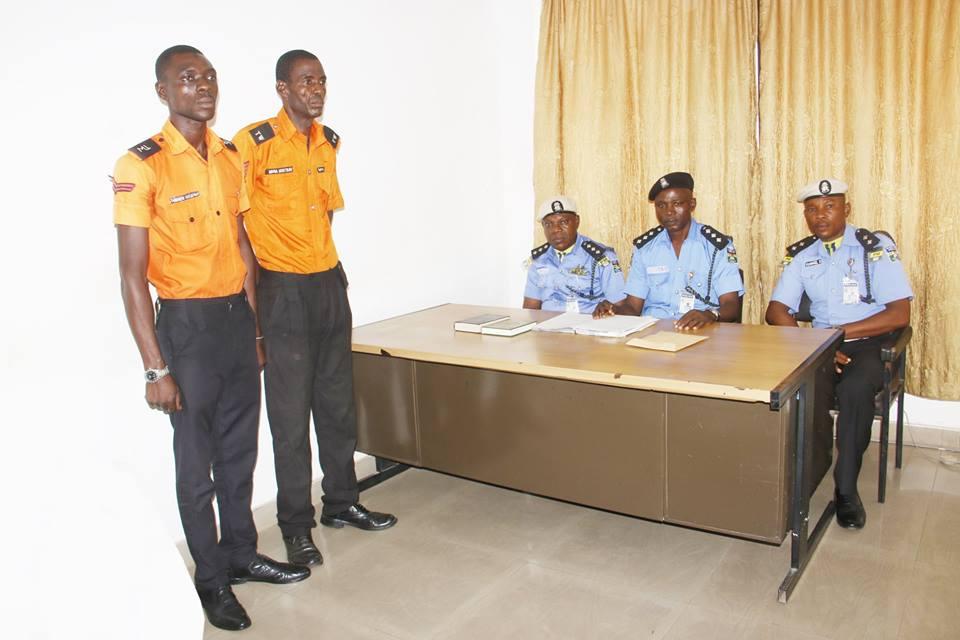 Dismissed traffic wardens