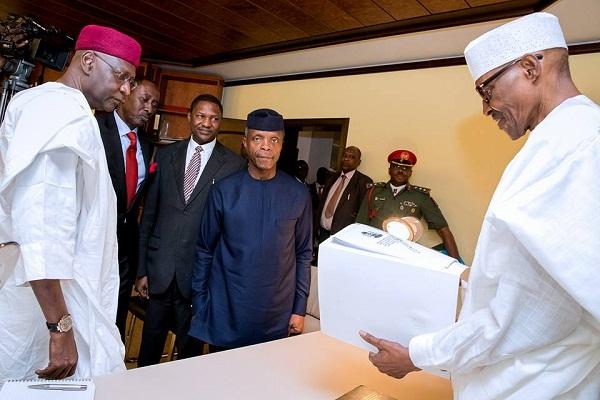 Osinbajo submits Lawal-Oke probe report to Buhari1