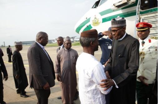 Yemi Osinbajo Muhammadu Buhari