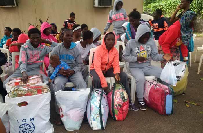Nigeria Libya returnees
