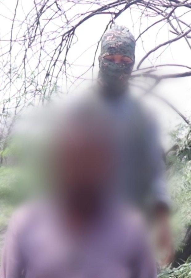 ISWAP execute Aid worker