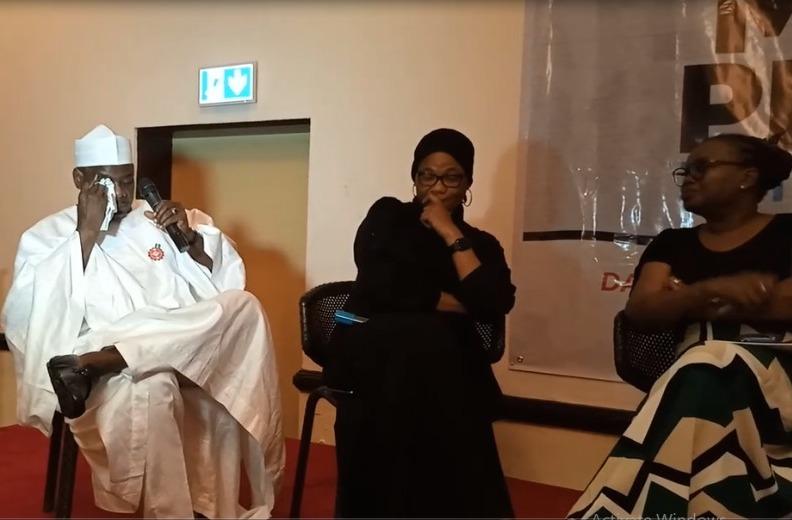 Senator Ndume in tears in Abuja on Wednesday Nov. 27