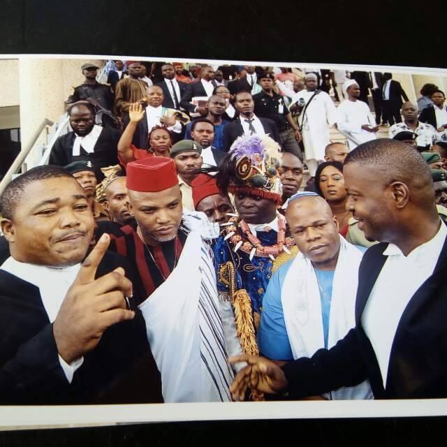 Nnamdi Kanu's lawyer