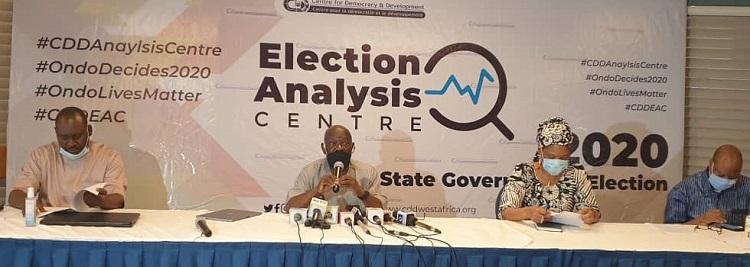 Ondo election CDD
