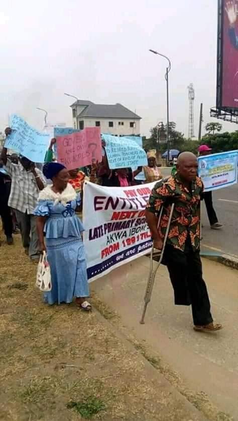 Akwa Ibom State Pensioners