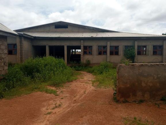 Abandoned PHC at Lamba
