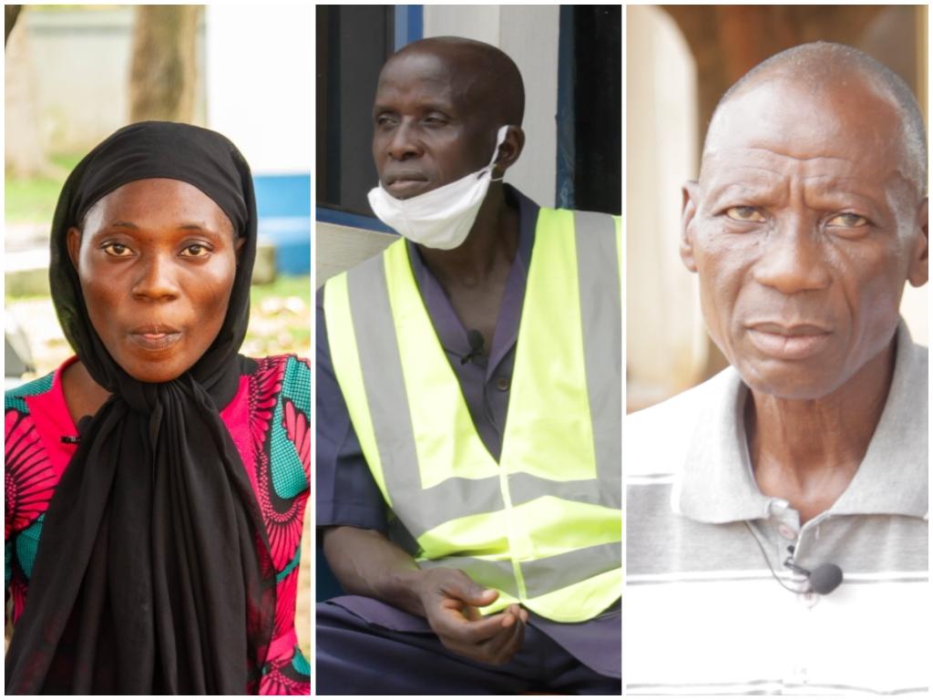 Abuja Security guards COVID-19