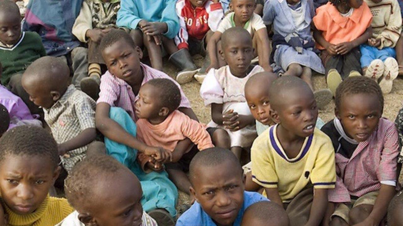 Nigerian children starvation