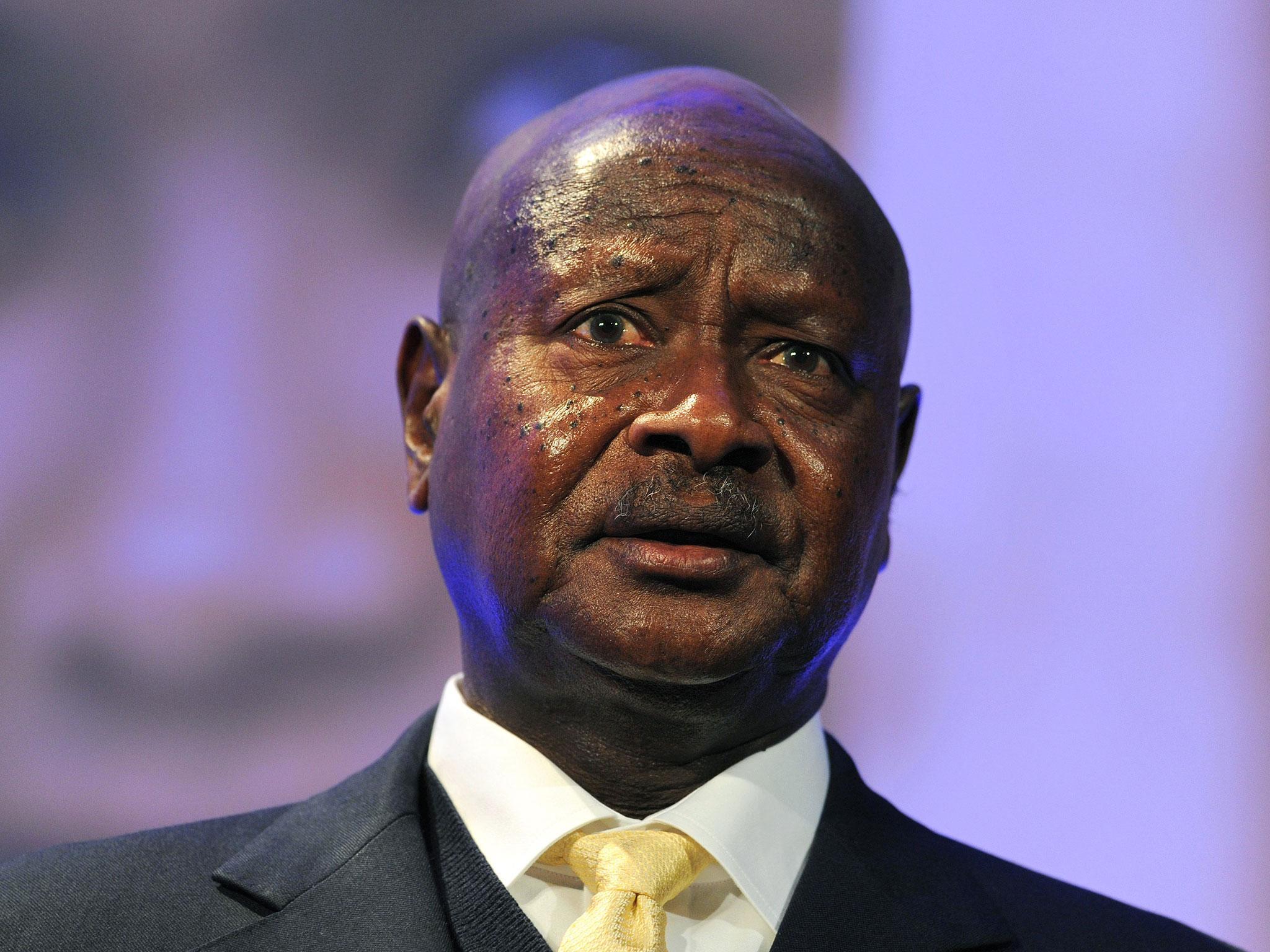 Ugandan election Museveni
