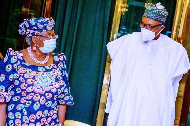 Buhari and Okonjo-Iweala