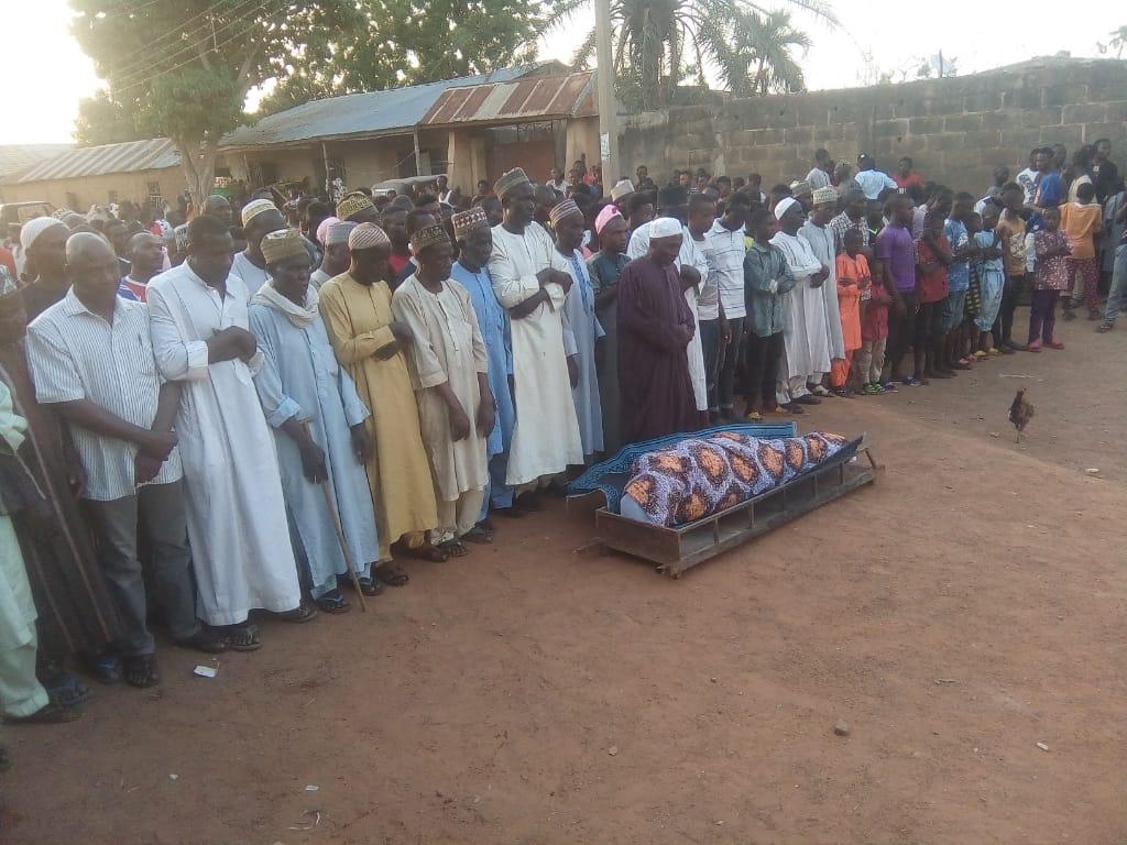 Final burial rites for Umar Musa