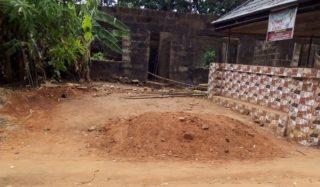 Graveside of Benedict Diakwu