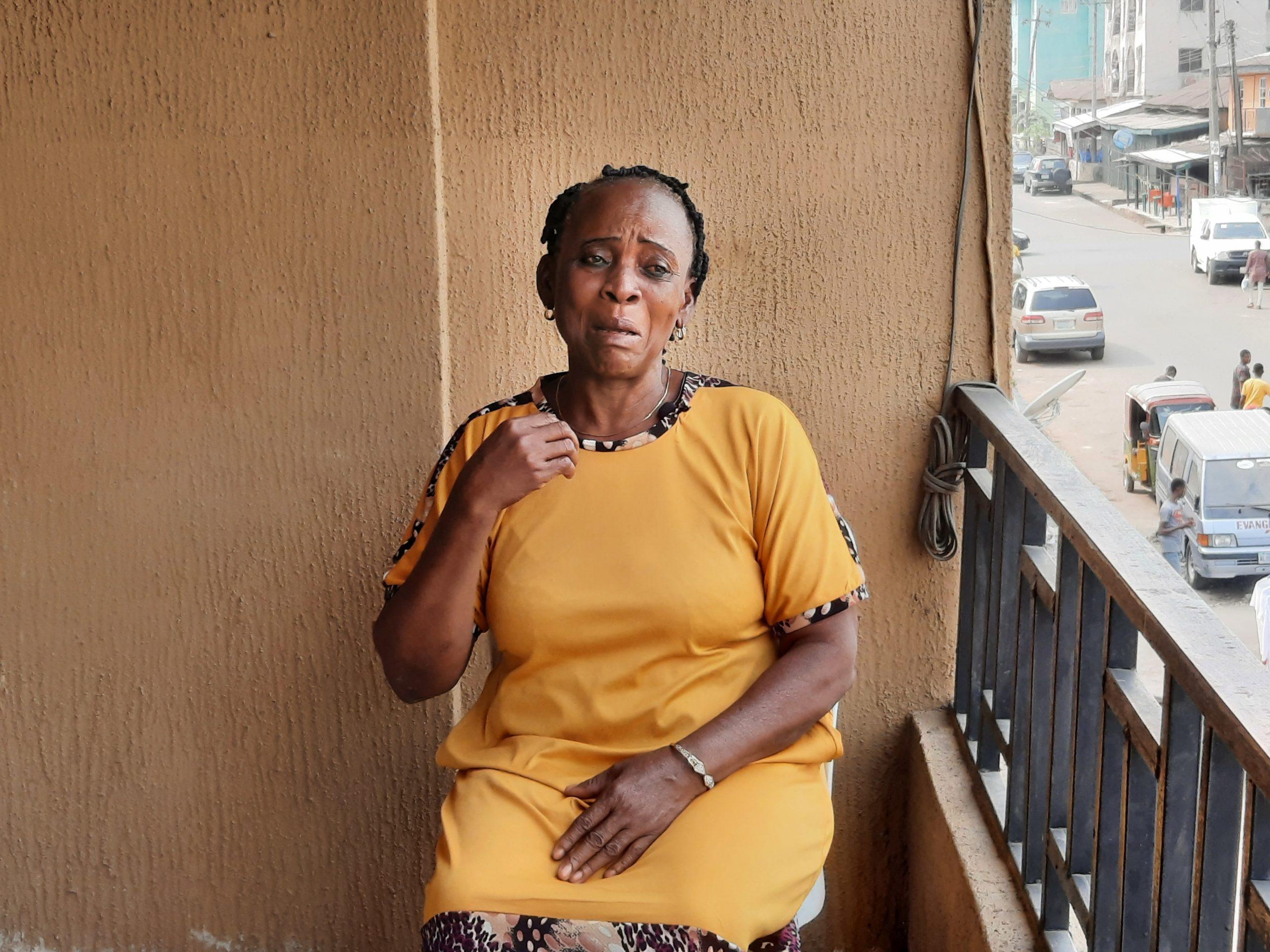 Chibuisi's mum in tears