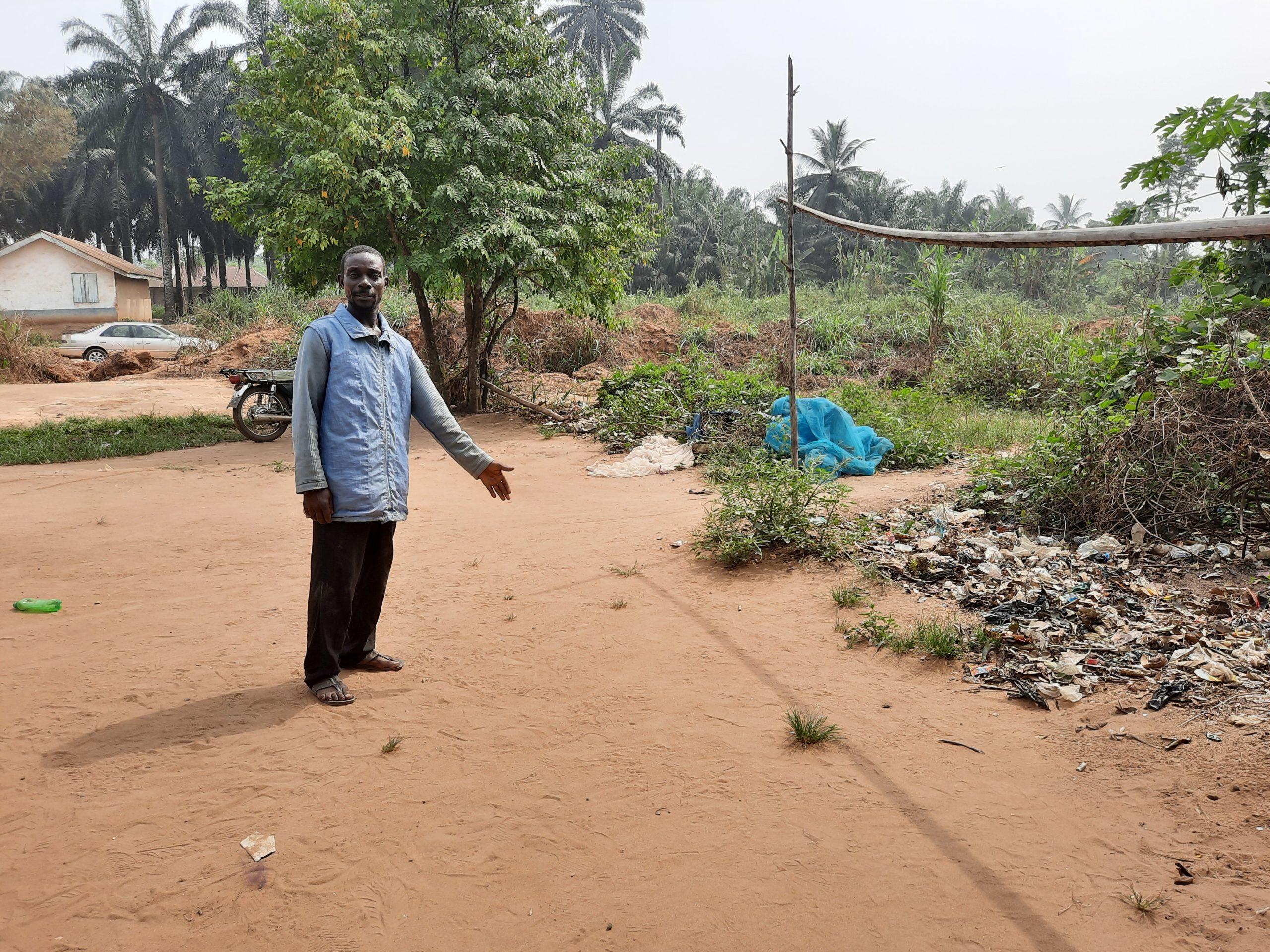 Onyekaonwu pointing to exact spot Onyedikachi was killed