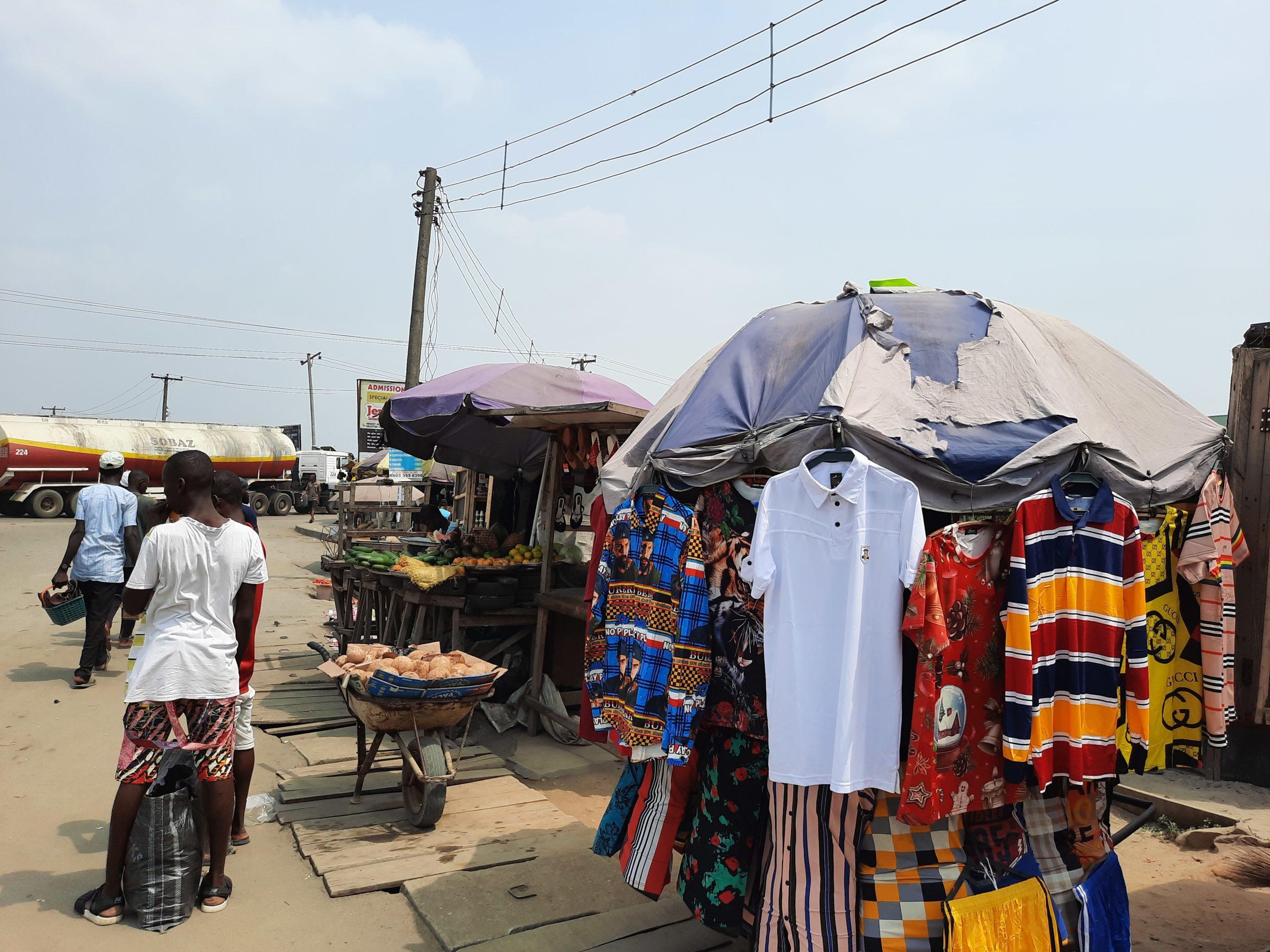 Trading around Eneka round about