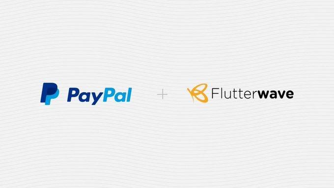 Flutterwave partners Paypal