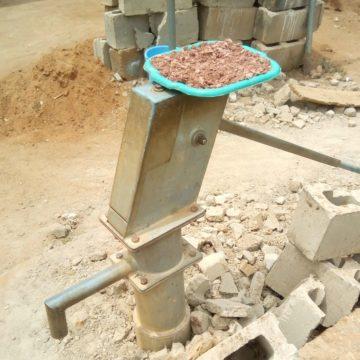 A non-functional borehole at Iworoko Ekiti.