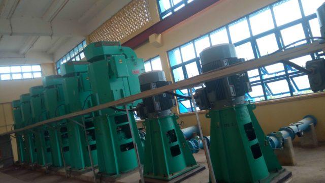 Some of the high lift pumps at Ero Dam, Ekiti State Photo credit: Marcus Fatunmole/The ICIR