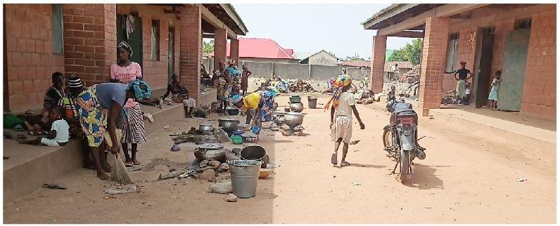 An IDP Camp in Sarkin Pawa