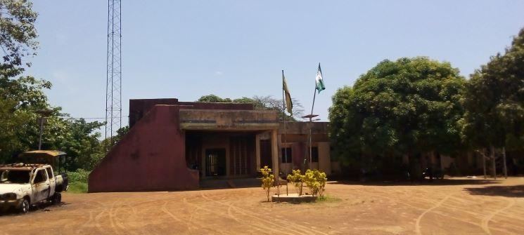 Destroyed Onicha Police station, Ebonyi