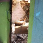 Destroyed office at Uzuakoli Police station Abia