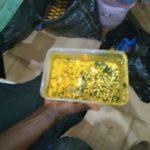 Egusi soup served inside the ward