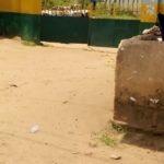 Front Gate of Uzuakoli Police station, Abia state