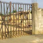 Locked Up Gate, Umoba Police station, Abia state