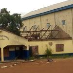 Remains of Emene Police station Enugu