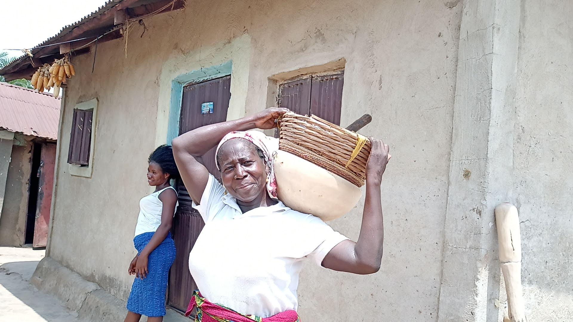 She said Rebecca Yahaya in Tafa LGAthese are the tools she uses in farming