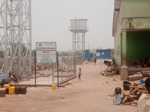 Official IDP camp Abegana, Markudi.