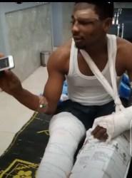 Road accident survivor