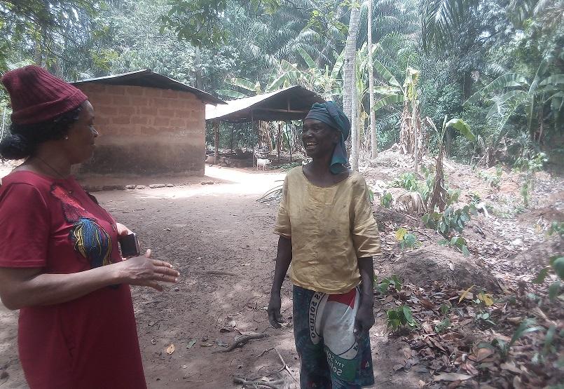 Smallholder Farmer Stella Okoro