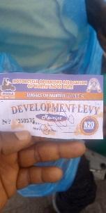 Coker Aguda Motorcycle ticket
